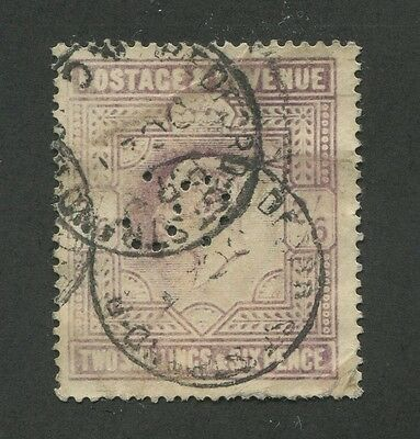 Great Britain #139 Used Perfin