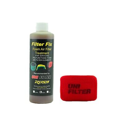 1 X UNIFILTER Safari Snorkel Ram Head (175Wx125H) Cover Pre Cleaner & Filter Oil