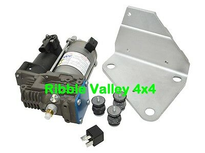 Lr078650 Discovery 3 Upgraded Amk Compressor, Mounts, Bracket And Relay (Oem)