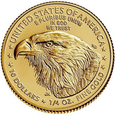 2017 1/4 oz Gold American Eagle $10 Coin Brilliant Uncirculated