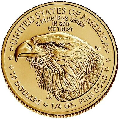 2019 1/4 oz Gold American Eagle $10 Coin Brilliant Uncirculated