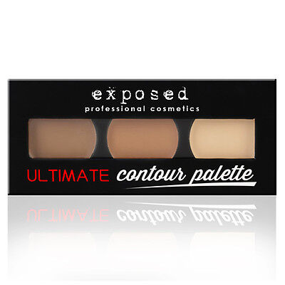 Exposed Ultimate Contour Palette - Bronzer, Highlighter & Contouring Kit