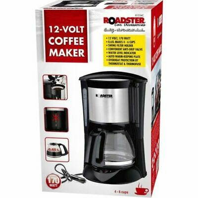 12V 170W Coffe Machine All Ride Electric Coffee Maker For 6 Cups