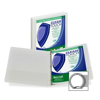 Samsill Antimicrobial Insertable Round Ring Binder 18217