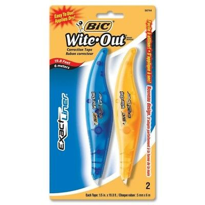 BIC Exact Liner Wite-Out Brand Correction Tape WOELP21