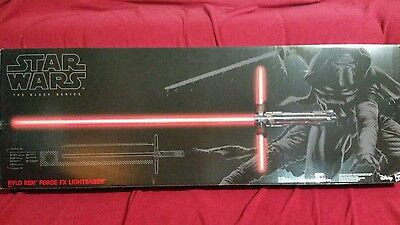 Star Wars Episode VII Kylo Ren Force FX Deluxe Lightsaber The Black Series