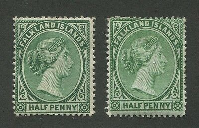 Falkland Islands #9, 10 Mint