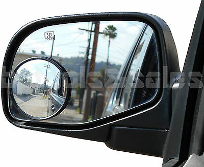 """2pc 3"""" Universal Wide Angle Convex Blind Spot Rear Side View Mirrors Car Truck"""