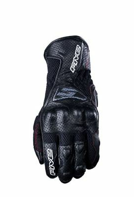 Five Gloves Rfx-4 Airflow Leather Motorcycle Gloves Black Sports Road Gfr407-16
