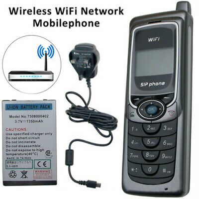 Wireless WiFi Network Mobilephone Roaming Voice Call VoIP SIP IP PBX LCD Phone