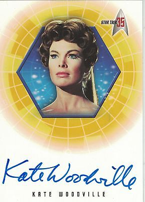 TOS 35th Anniversary: A34 Kate Woodville autograph