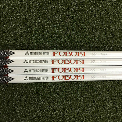 'NEW UNCUT' Mitsubishi Rayon FUBUKI red Wood shaft * Regular Flex *