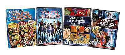 Young Justice: Complete TV Series Seasons 1 & 2 Invasion Box / DVD Set(s) NEW!