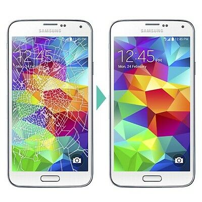 Samsung galaxy S5 Cracked Screen Glass Replacement Repair Service