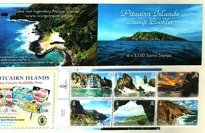 Pitcairn Islands 2016 Free Ship Landscapes Booklet 1500 Only