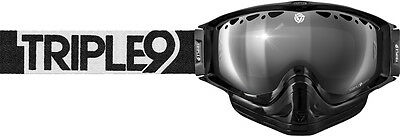Triple 9 Switch Goggle Black/white W/ Chrome/rose Lens