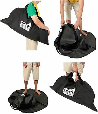Wetsuit bag & changing mat - keeps all the water, sand & mud in one place.
