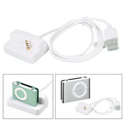 USB Docking Station Charger Cradle For Apple iPod shuffle 2nd 3rd Gen