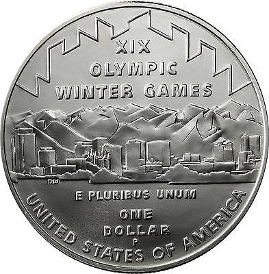 USA 1 Dollar Silber 2002 Stgl.  Olympic Winter Games in Salt Lake City Olympia