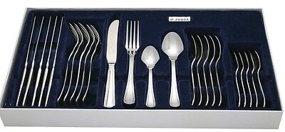 Judge Bead Design Boxed 24 Piece Stainless Steel Canteen Cutlery Set