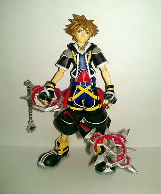 "Custom""bonding flames""key for kingdom hearts 2 II play arts arms sora/axel/roxas"