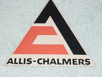 Allis - Chalmers Tractor Logo Large Sticker