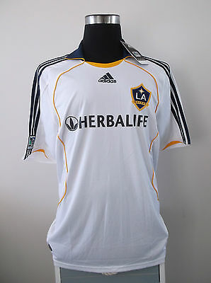 BNWT LA Galaxy Home Football Shirt Jersey 2008/09 (L)