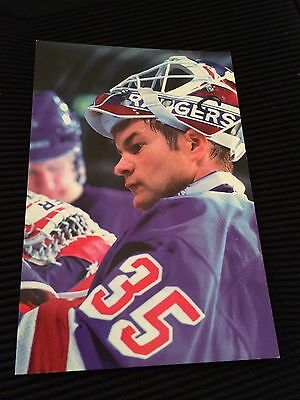 1998-99 Panini Photo Cards Mike Richter