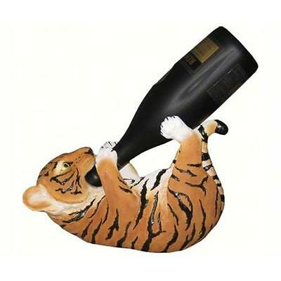 DWK Corporation DWKHD23228 Orange Tiger Wine Holder