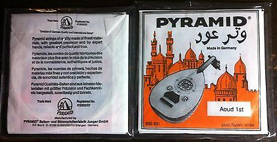 PYRAMID Professional OUD STRINGS ORANGE LABEL,ARABIC TUNING,made in Germany.