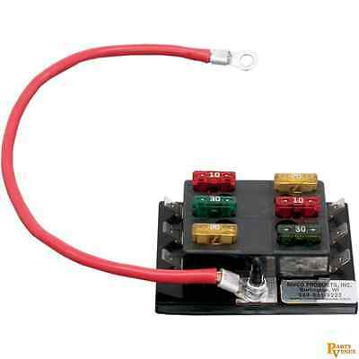 Rivco Products 6 Circuit Fuse Box Fusblk Block Universal 21200389