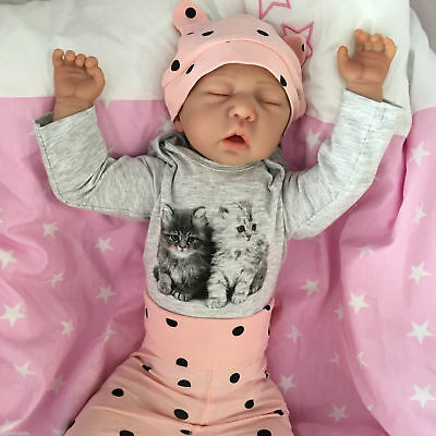 """Reborn Doll Baby Girl April Realistic 20""""  Real Lifelike Childs Sucks Her Thumb!"""
