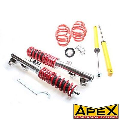 Apex Height Adjustable Sport Coilover Kit Fits BMW 3 Series E36 Cabrio
