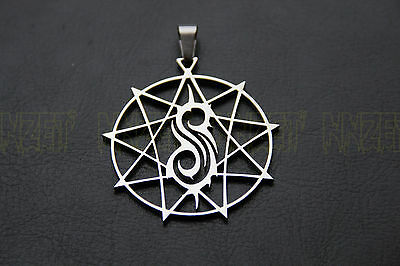 SLIPKNOT Nonagram STAR ultimate custom made limited  stainless charm  pendant