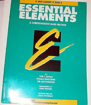 Essential Elements Band Method Bb Bass Clarinet Book 2
