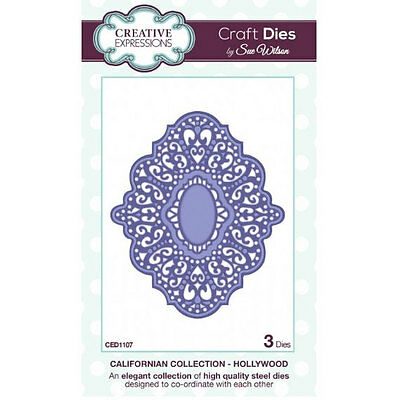 Craft Dies by Sue Wilson - Californian Collection - Hollywood (CED1107)