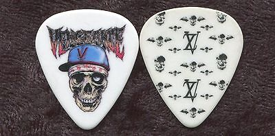 AVENGED SEVENFOLD 2010 Nightmare Tour Guitar Pick ZACKY VENGEANCE custom stage 2