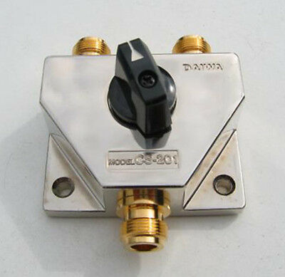 Daiwa CN-201 GII Coaxial Swits 2 Way 2 Ghz N Connector