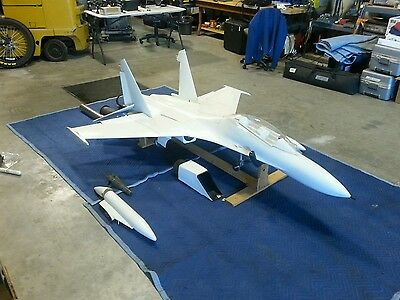 JET-TECH SUKHOI SU-27 Flanker remote control jet kit  RC/model  airplane/aircraft