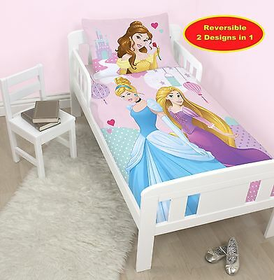 Princesse Disney Enchanteur Junior Ensemble De Housse Couette Lit