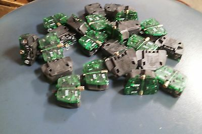 ALLEN BRADLEY 2X10 Latch Mount Contact Block ( 1 LOT OF 23 PCS. )