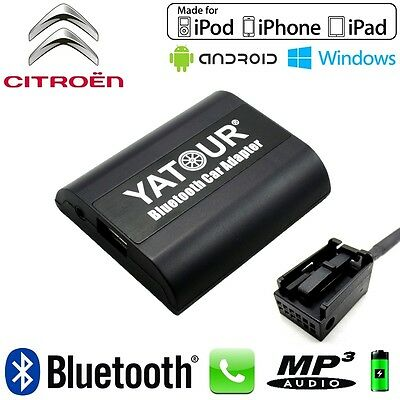 Interface Kit mains libres Bluetooth et streaming audio CITROEN CAN C4 Picasso