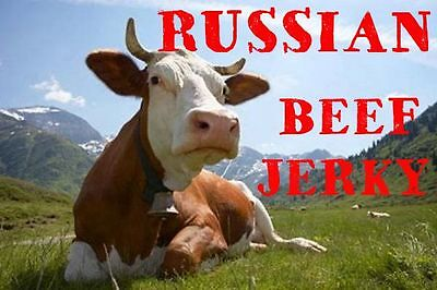 Original Beef Jerky. Natural meat NO PRESERVATIVES! From RUSSIA