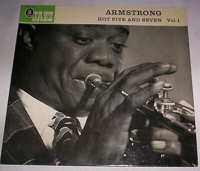 ARMSTRONG - HOT FIVE AND SEVEN VOL. 1 - LP - Vinyl - GER - Odeon - O 83 211