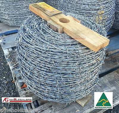 Barbed Wire Iowa - 2.5Mm X 400M. Fencing Fence Barb