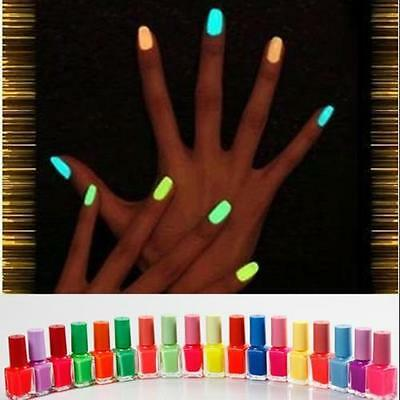 VERNIS à ONGLES FLUO NEON NAIL POLISH  FLUORESCENT