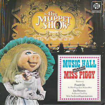 "The Muppet Show # Music Hall Ep Starring Miss Piggy # 7"" Vinyl Single"
