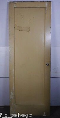 "Antique Vintage Single-Panel Door 29-3/4"" X 81-1/2"" X 1-3/4""(SP4) Local Pickup"