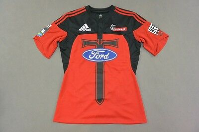 adidas Canterbury Crusaders 2008 Rugby League Club SUPERRUGBY  Home Shirt /M Men