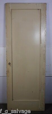 "Antique Vintage Single-Panel Door 29-7/8"" X 81-1/2"" X 1-3/4"" (SP5) Local Pickup"